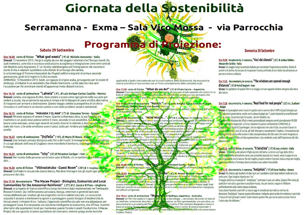 Programma Sardinia Sustainability Film Festival
