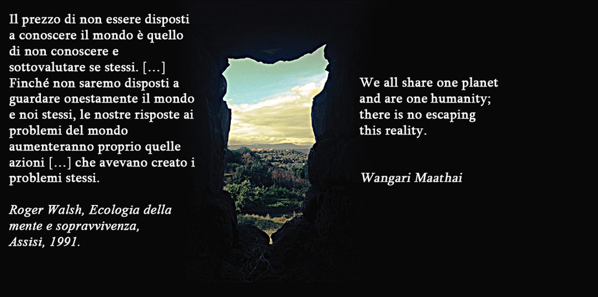 Roger Walsh e Wangara Maathai